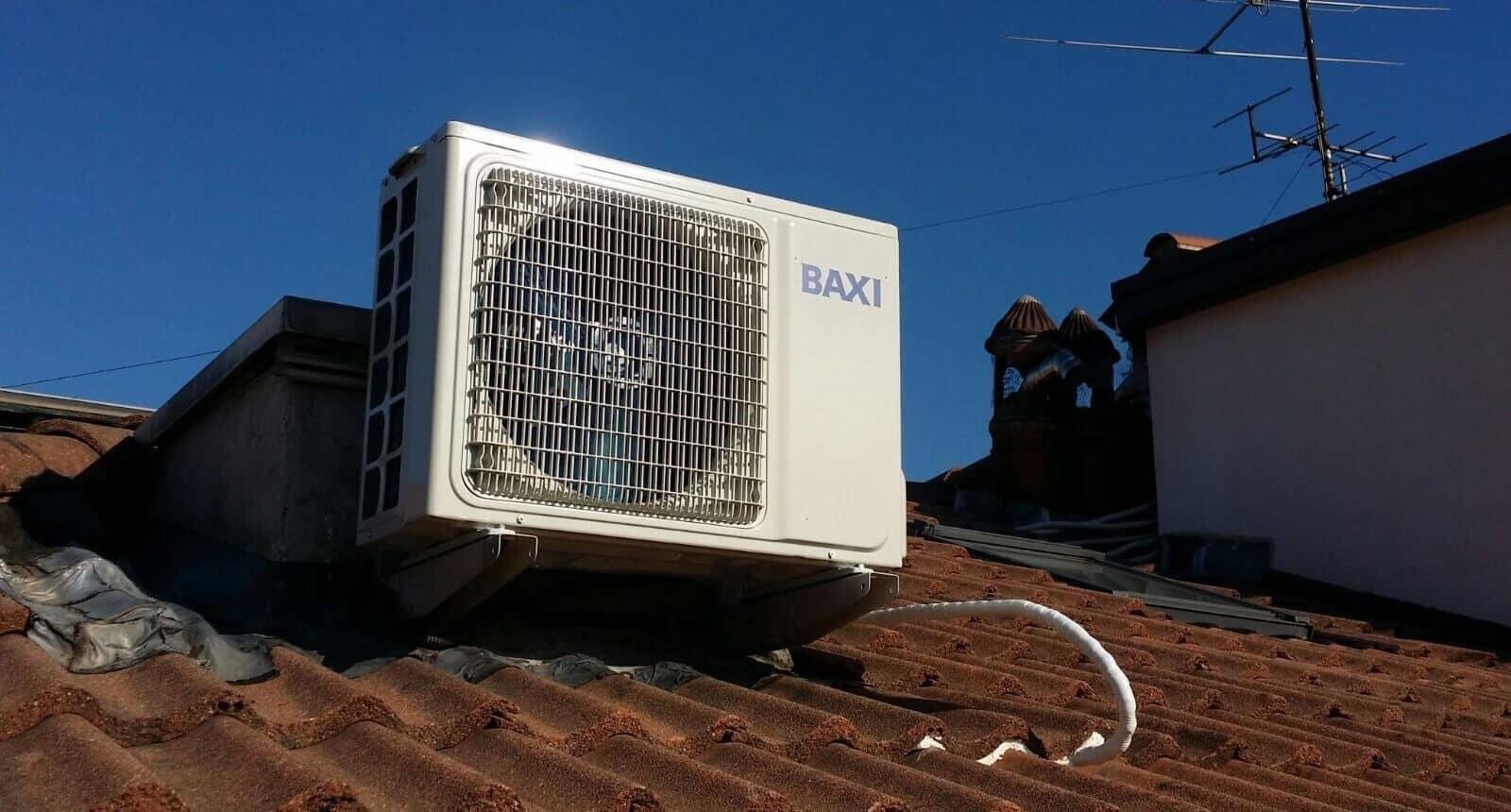 Climatizzatore BAXI unita esterna Serie LUNA CLIMA