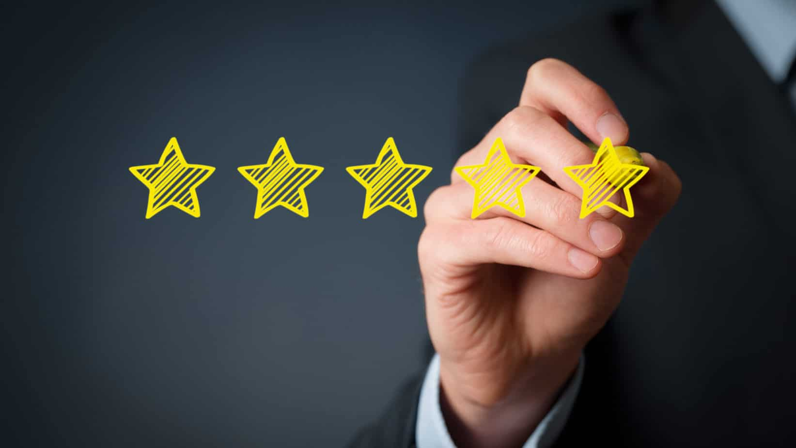 recensione-cinque-stelle di valutazione
