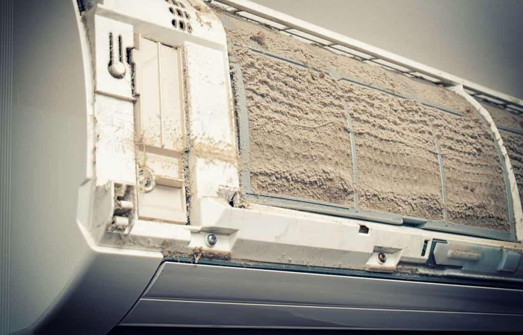 Filtri-sporchi-climatizzatore-daria
