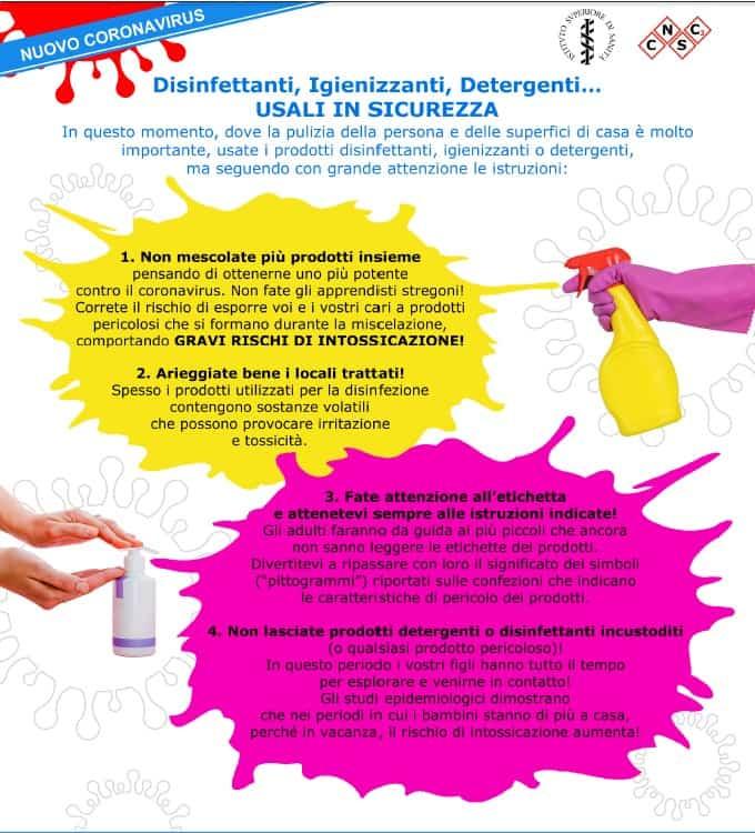 Disinfettanti-Igenizzanti-sanificazione disinfezione
