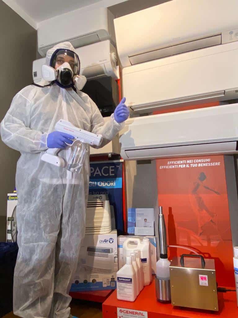 Punto Service Sanificazione climatizzatori Brescia