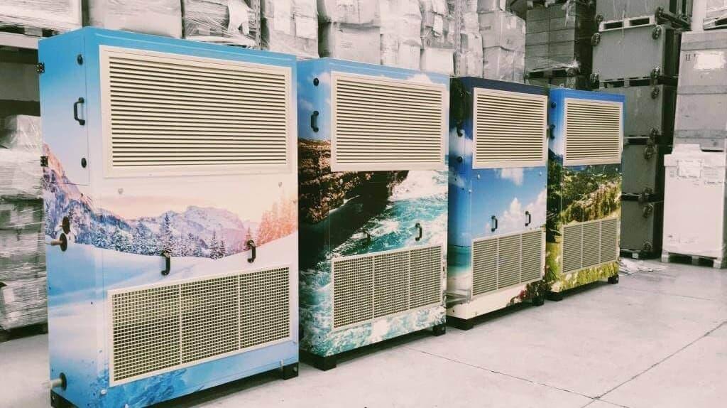 Ariabox-climatizzazione industriale-serie design-Punto Service Brescia