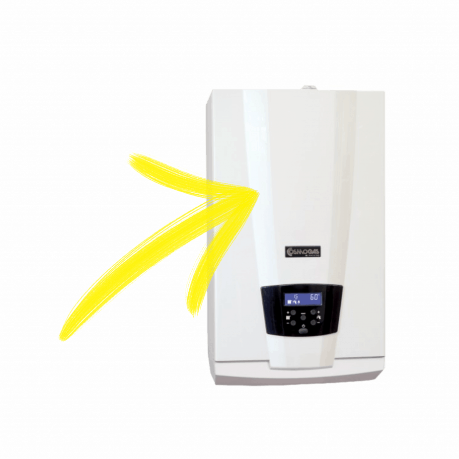 caldaia a doppia condensazione Cosmogas Q30