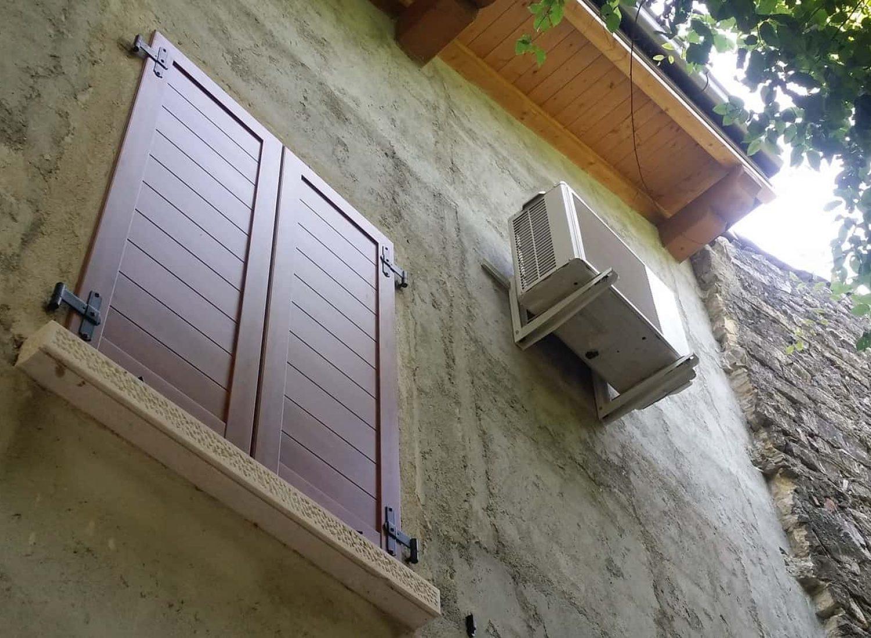 climatizzatore Fujitsu un. esterna staffata serie LUCA