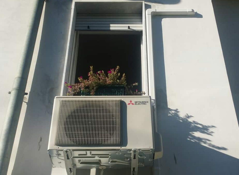 climatizzatore Mitsubishi un. esterna 9000-BTU