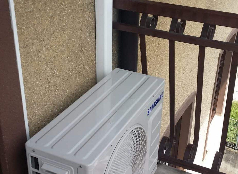 climatizzatore Samsung Windfree un. esterna