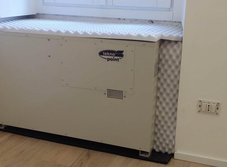 installazione terminata climatizzatore invisuibile dual split Tekno Point