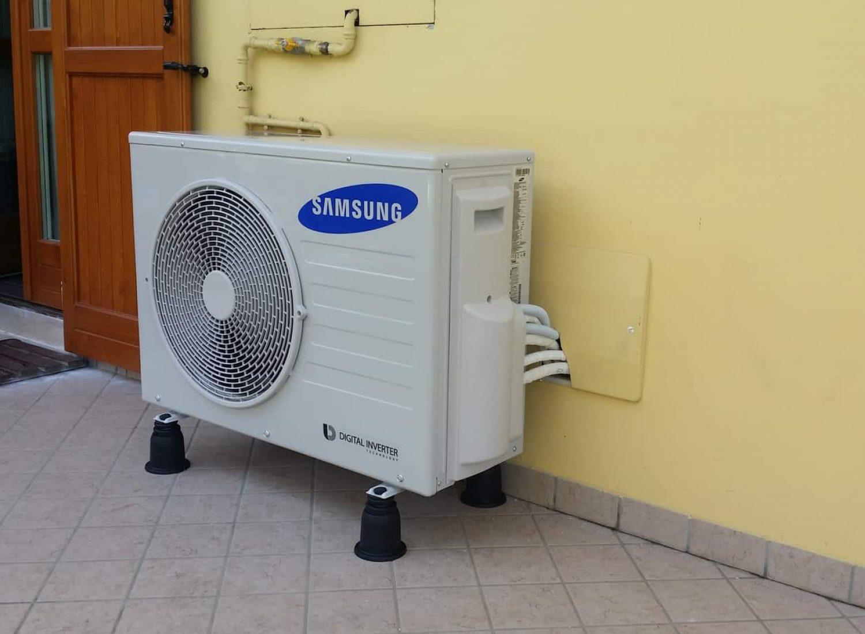 un. esterna Samsung Dual Split